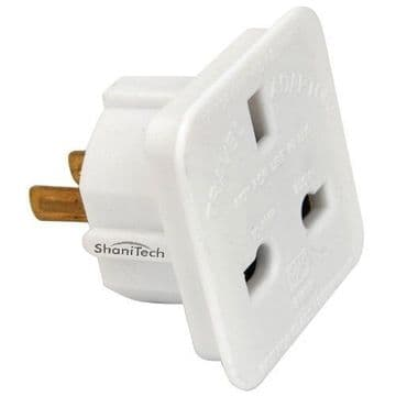 ShaniTech pack of 2 UK to US Travel Adaptor suitable for USA, Canada, Mexico, Thailand