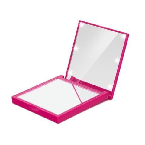 FLO Compact LED Makeup Mirror (Prestige Soft Touch Finish)