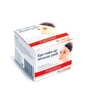 Purederm - Eye Make-Up Remover Pads