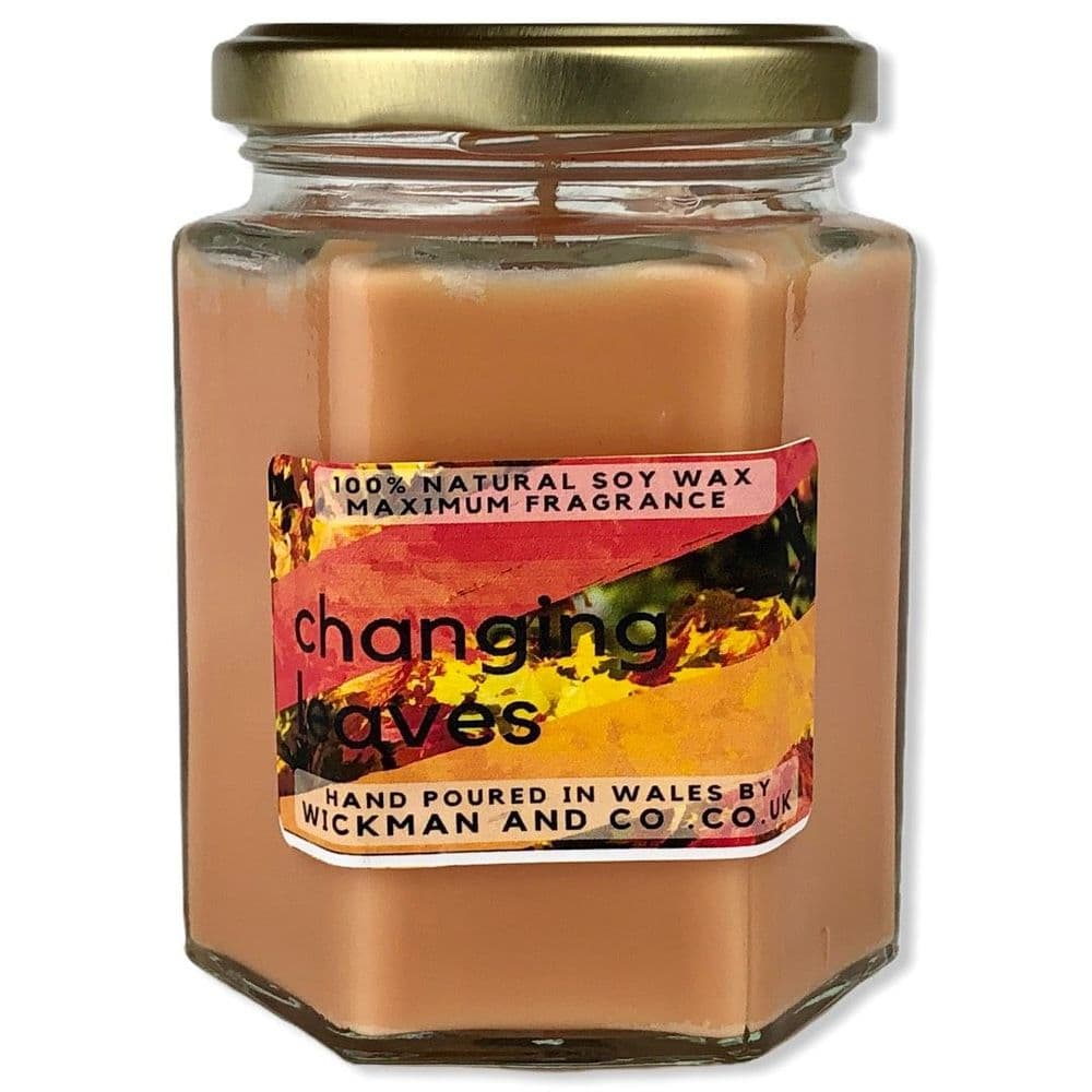 Changing Leaves Soy Wax Candle