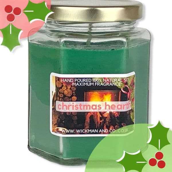 Christmas Hearth Soy Wax Candle