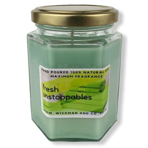 Fresh Unstoppables (Lenore) Soy Wax Candle