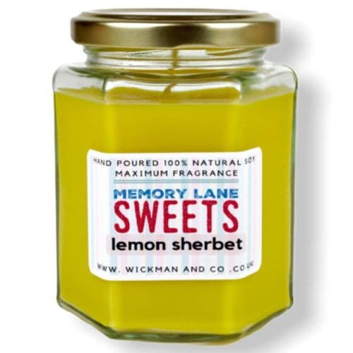 Memory Lane Sweets - Lemon Sherbet Soy Wax Candle