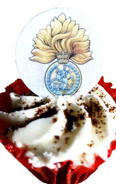 Army cake topper - Royal Regiment of Fusiliers