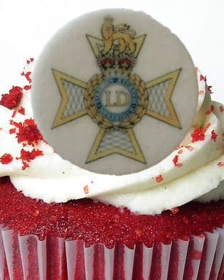 Light Dragoons cake toppers