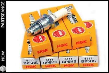 BP5HS Spark Plugs for Pre 1976 Rover V8s - Set of 8