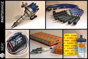 Complete Rover V8 Ignition Upgrade Kit - Distributor, Amplifier, Magnecor and Service Parts