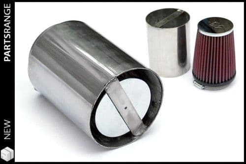 K & N Cone Filter With Power Shroud for Power Plenum, SU and Stromberg Carbs