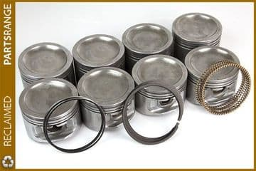 Rover V8 refurb 4.6 Pistons and new Rings Set Standard size