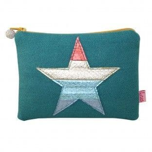 COLOURFUL STAR PURSE GREEN