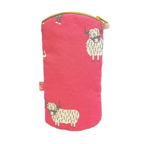 GLASSES CASE HIGHLAND COW
