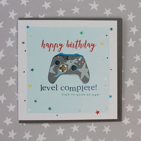 HAPPY BIRTHDAY GAMES CONTROLLER CARD