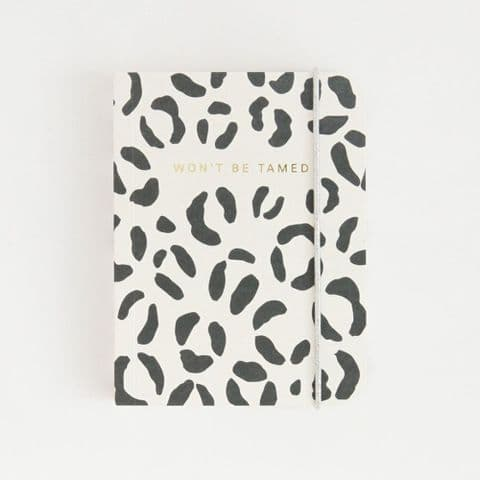 LEOPARD SMALL CHUNKY NOTEPAD
