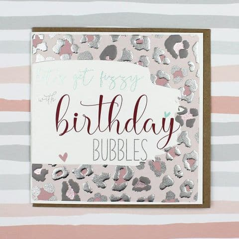 LET'S GET FIZZY WITH BIRTHDAY BUBBLES