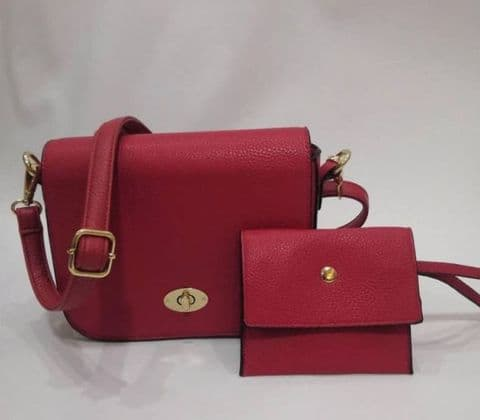 LOIS RED CROSSBODY