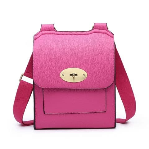 MIA CROSSBODY BRIGHT PINK