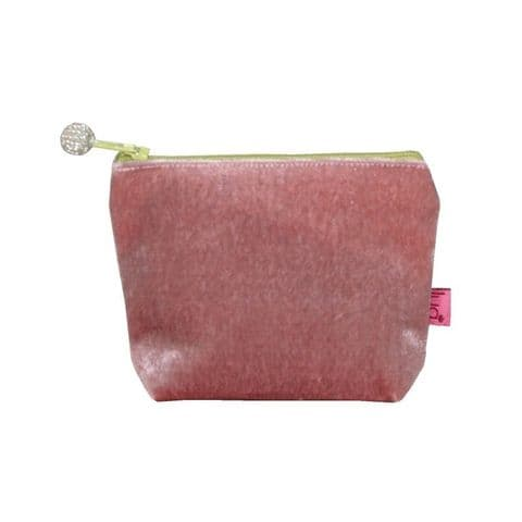 MINI VELVET PURSE BLUSH PINK