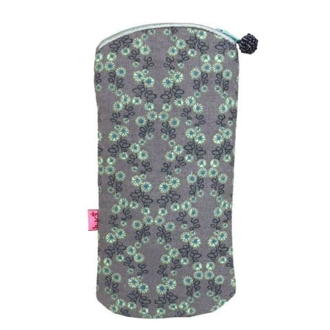 MINK FLOWER GLASSES CASE