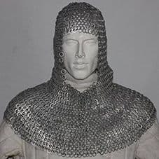Chainmail Coif Head Armour