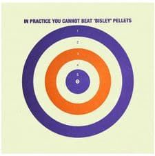 Coloured Paper Target (25 Pack)