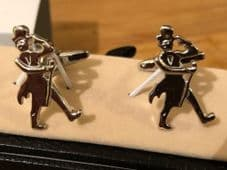 Cufflink Pair in Box 'Top hat and coat tails' (WEBSITE EXCLUSIVE)