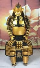 Full Size Japanese Armour Gold (WEBSITE EXCLUSIVE)