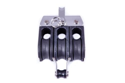19.88 19mm Triple Block with Becket (5 Pack)