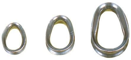 Solid Stainless Steel Thimbles (Packs of 25)