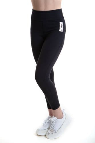 EBONY Black Sports Leggings