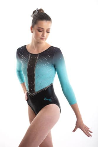 Turquoise Competition Leotard