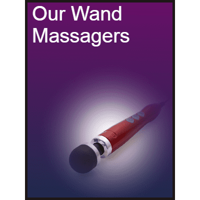 Our Wand Massagers
