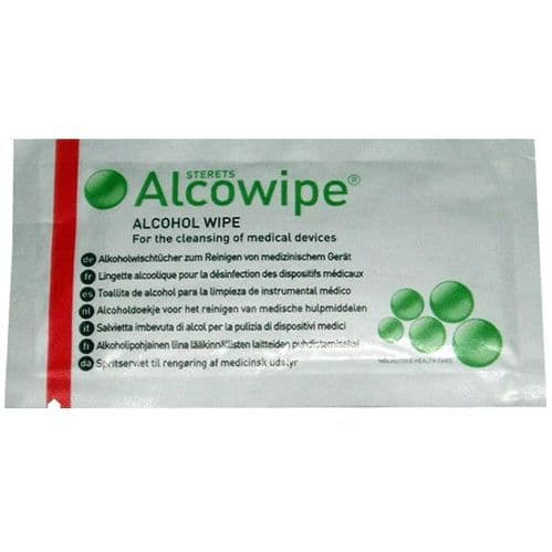 Sterile Cleaning Wipe Sachets-Pack of 10