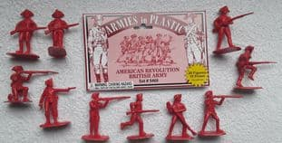 Armies In Plastic 1/32 AIP5466 British Infantry (AWI)