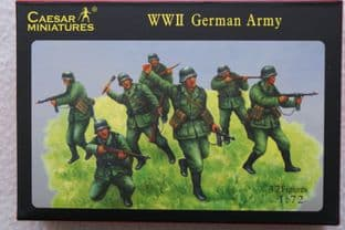 Caesar Miniatures 1/72 CMH037 German Infantry (WW2)