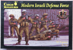 Caesar Miniatures 1/72 CMH057 Israeli Defense Force Infantry (Modern)