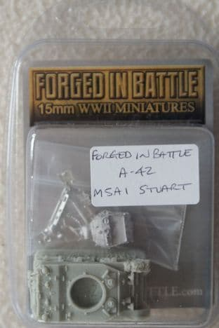 Forged in Battle 15mm A-42 M5A1 Stuart