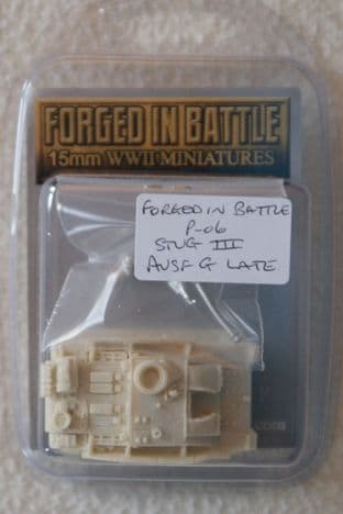 Forged in Battle 15mm P-06 StuG III Ausf G Late