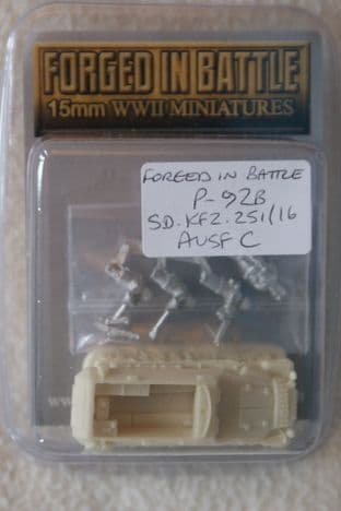 Forged in Battle 15mm P-92B Sd.Kfz.251/16 Ausf C