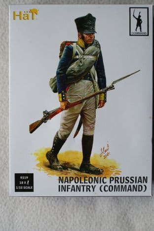 HaT 1/32 HAT9319 Prussian Infantry Command (Napoleonic)