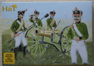 HaT 1/72 HAT8010 Russian Artillery (Napoleonic)