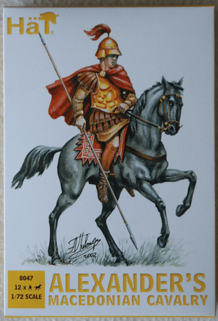 HaT 1/72 HAT8047 Alexander's Macedonian Cavalry (Ancients)