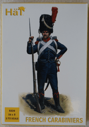 HaT 1/72 HAT8220 French Light Infantry Carabiniers (Napoleonic)