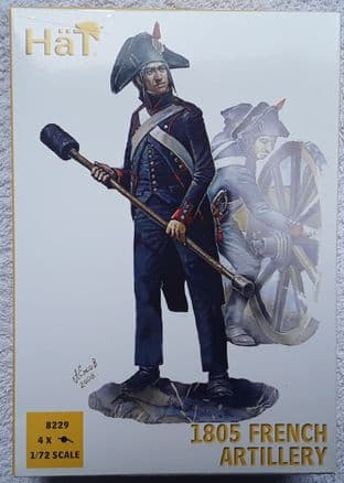 HaT 1/72 HAT8229 French Artillery 1805 (Napoleonic)