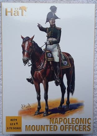 HaT 1/72 HAT8279 Mounted Officers (Napoleonic)