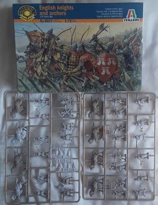 Italeri 1/72 IT6027B English Knights And Archers (Medieval) (Pre-Owned)