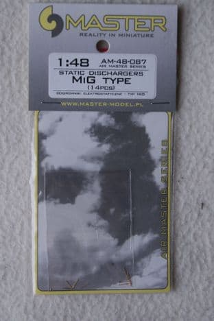 Master 1/48 AM-48-087 Static Dischargers MiG Type