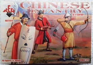 Red Box 1/72 RB72015 Chinese Infantry (16th-17th Century)