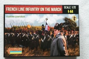 Strelets 1/72 ST0173 French Line Flank Companies On The March (Napoleonic)