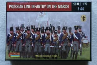 Strelets 1/72 ST0174 Prussian Line Infantry on the March (Napoleonic)