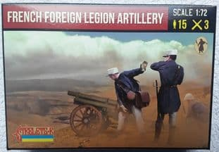 Strelets 1/72 ST0290 French Foreign Legion Artillery (20th Century)